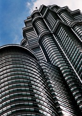 Stunning shot of the Petronas Twin Towers, by MrAaron