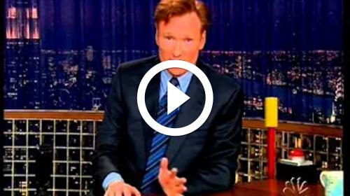 Play Walker, Texas Ranger Lever - Late Night with Conan O' Brien - Episode 1
