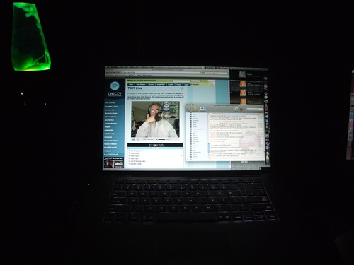 Watching Leo Laporte at 04:00am Singapore time!