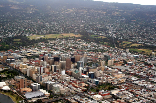 Photo of the Adelaide CBD by Mozul