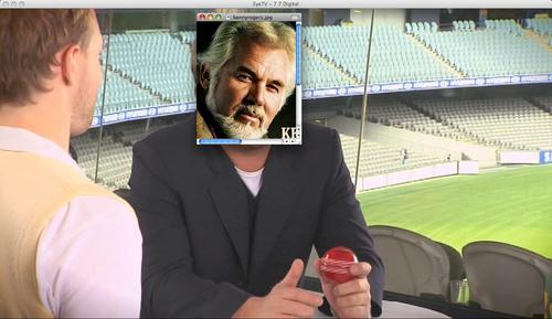 Kenny Rogers over Shane Warne
