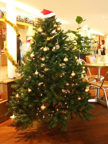 Chrismas tree in Vivocity