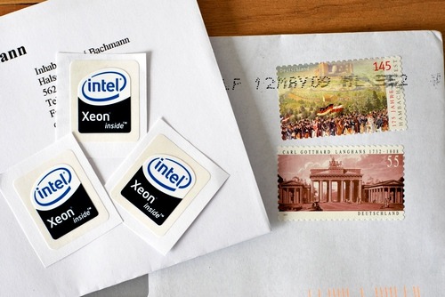 My Xeon stickers from eBay arrived!