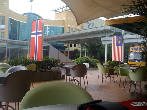 Norwegian sandwich shop at The Curve in Damansara