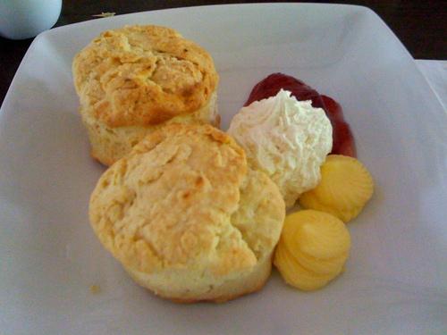 Riders Cafe scones :)