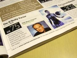 Singapore magazine misspells Bill O'Reilly!
