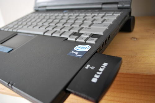 Xeon sticker on 2002 P3 notebook