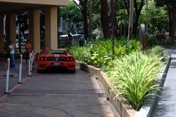 A Ferrari on Orchard Road