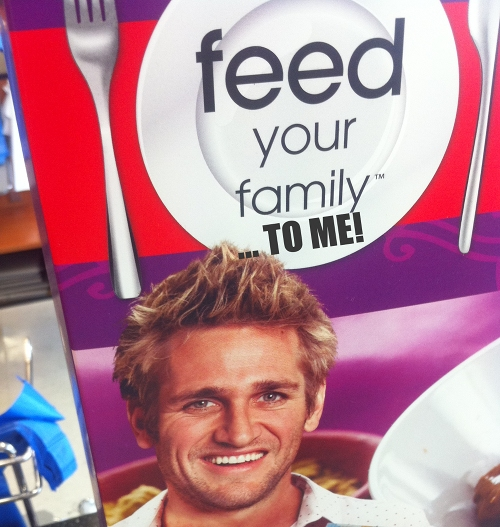 ColesGuy: Feed your family, to me!