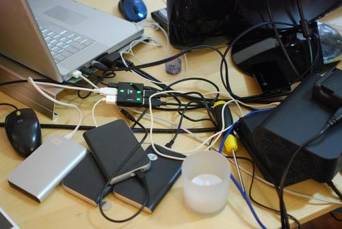 My new Logitech powered USB hub!