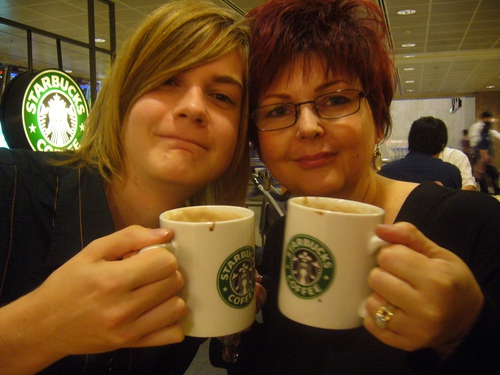 Me and mummy in 2006