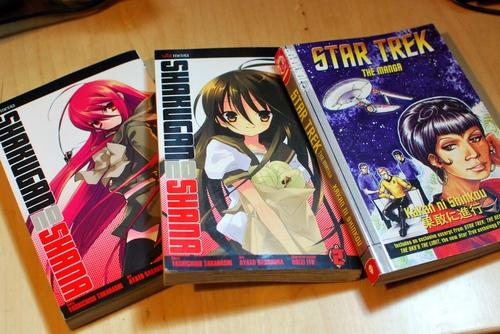 Shana and Star Trek manga haul