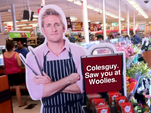 ColesGuy: Saw you at Woolies