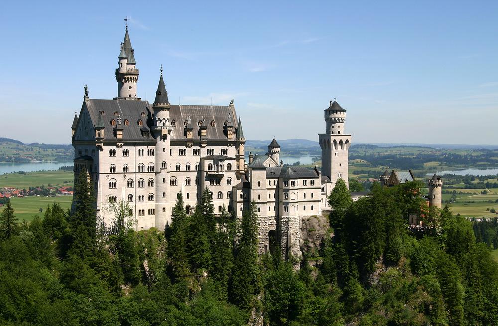 Schloss Neuschwanstein in Bavaria