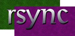 rsync's rather fabulous retro logo