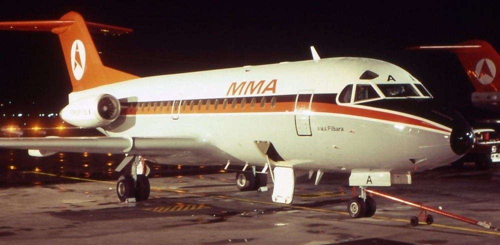 MMA Fokker F28-1000