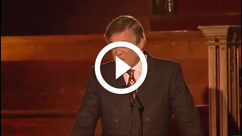 Play Stephen Fry Speaks Out Against the Catholic Church Part 2