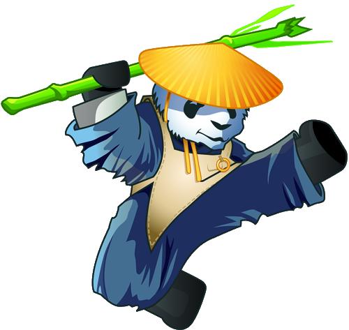 Xen's Panda mascot