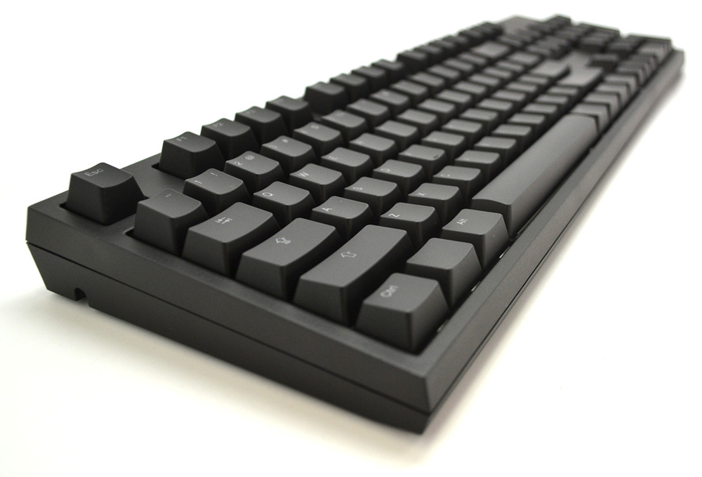 The CODE Keyboard, side view