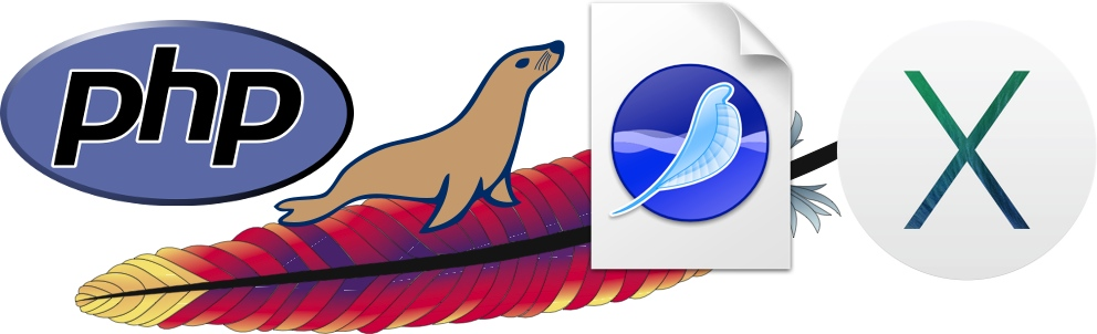 PHP, Apache, MariaDB, SeaMonkey Broser, OS X Mavericks!