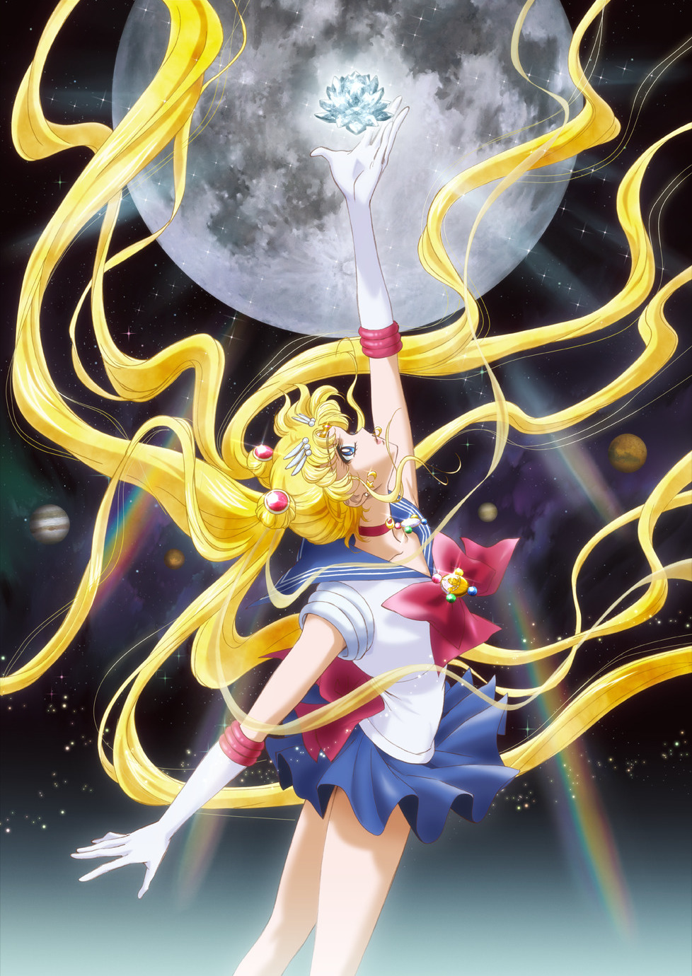 Sailor Moon Crystal official art