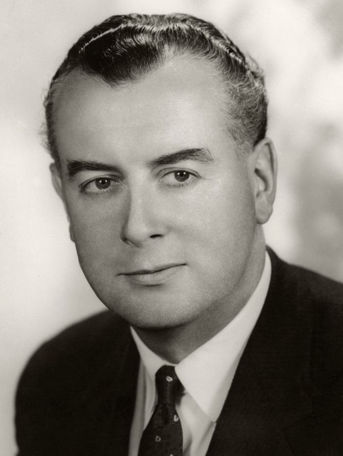 Gough Whitlam in 1957