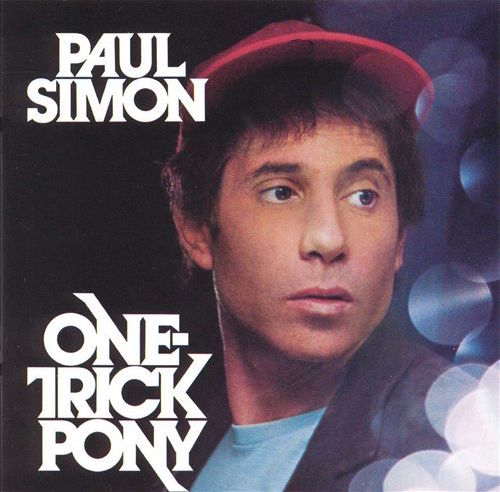 Cover of Paul Simon's One Trick Pony