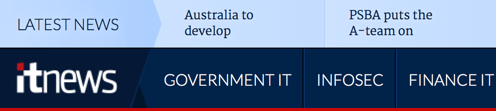 Australia to develop. PSBA puts the A-team on