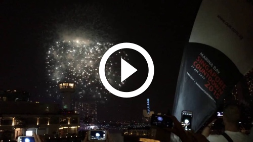Play Singapore New Year Fireworks 2015