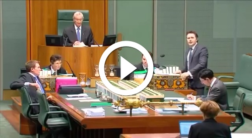 Play Jason Clare slams Abbott in parliament...