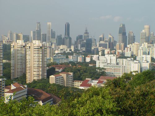 Singapore is such a small big place. Or a big small place.