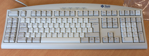 The Sun Type 6 keyboard
