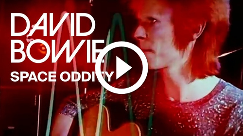 Play David Bowie – Space Oddity (Official Video)