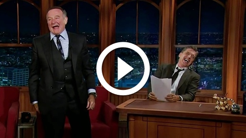 Play The Best Interview In The History Of Television [Robin Williams]
