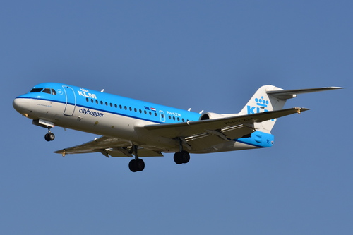Photo of a KLM Fokker 70 by Laurent ERRERA