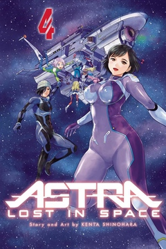 Cover from volume 4 of Astra: Lost in Space