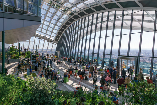 Photo of the Sky Garden by Colin on Wikimedia Commons