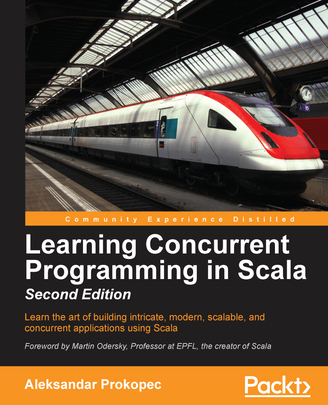 Cover of Learning Concurrent Programming in Scala