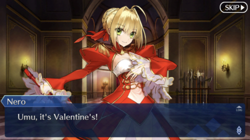 Nero: Umu, it's Valentine's!