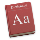 Dictionary.app icon