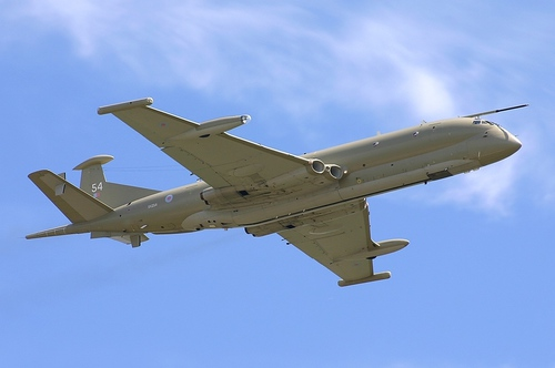 Photo of a Hawker Siddeley Nimrod MR2, by Dale Coleman.