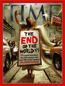 Time magazine cover showing Y2K