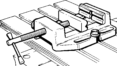 Graphic of a hardware vice, by Ssire