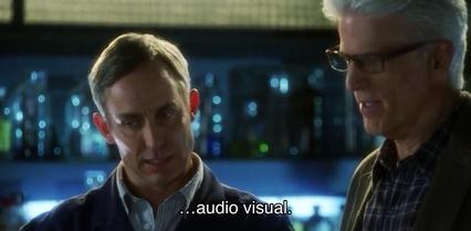 Hodges: …audio visual.
