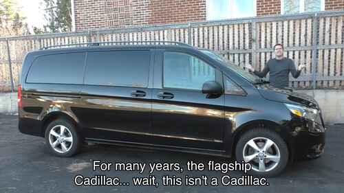 For many years, the flagship Cadillac... wait, this isn't a Cadillac