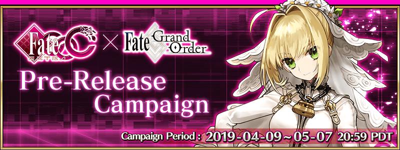 Fate CCC × Fate Grand Order