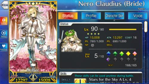 Screenshot showing Nero Bride