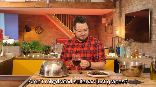 Aren't rehydrated sultanas just grapes?