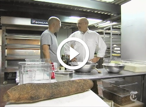 Watch Mark Bittman: No-Knead Bread