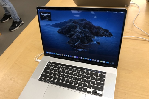 Photo of the 16-inch MacBook Pro